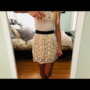 Floral urban outfitters skirt